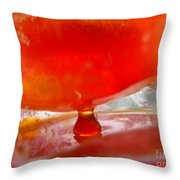 Color In Ice Series 3 Throw Pillow