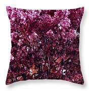 Color In The Tree 01 Throw Pillow