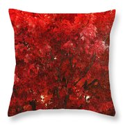 Color In The Tree 02 Throw Pillow