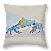 Color Me Blue . . . And Speckled Too Throw Pillow