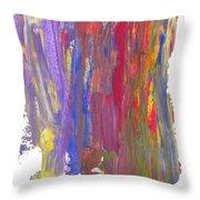 Color Mix 21 Throw Pillow
