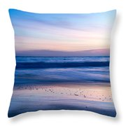 Color Of Sea And Sky Throw Pillow