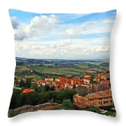 Color Of Tuscany Throw Pillow