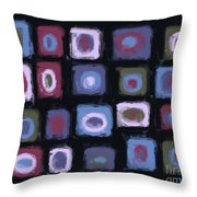 Color Study For Lake At Noon Throw Pillow