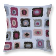 Color Study For Morning Lake Throw Pillow
