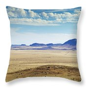 Color View Of West Texas Throw Pillow
