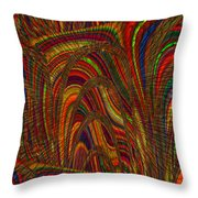 Color World Throw Pillow