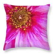 Color Wow Throw Pillow