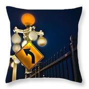 Colorado Street Bridge 2 Throw Pillow