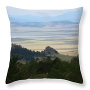 Colorado - Blue Throw Pillow