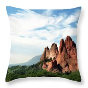 Colorado - Garden Of The Gods Throw Pillow