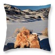 Colorado Glow Throw Pillow