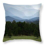 Colorado High Throw Pillow