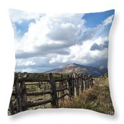 Colorado In Autumn Throw Pillow