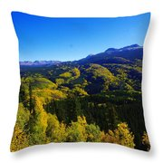 Colorado Landscape Throw Pillow
