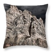 Colorado Monsoon Clouds Throw Pillow