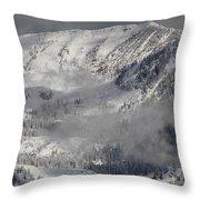 Colorado Mountain High Throw Pillow