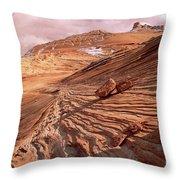 Colorado Plateau Sandstone Arizona Throw Pillow
