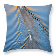 Colorado River Arizona Throw Pillow