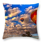 Colorado River Crossing 2012 Throw Pillow