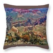 Colorado River Grand Canyon Throw Pillow