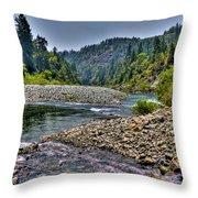 Colorado River Throw Pillow