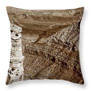 Colorado River View - Grand Canyon - Arizona Throw Pillow