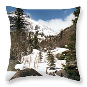 Colorado - Rocky Mountain National Park 02 Throw Pillow