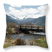 Colorado - Rocky Mountain National Park 03 Throw Pillow