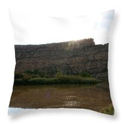 Colorado Sparkle Throw Pillow