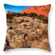 Colorado Springs Icon Throw Pillow