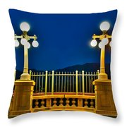 Colorado Street Bridge 3 Throw Pillow