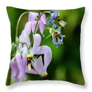 Colorchangers Throw Pillow