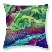 Colored 2 Throw Pillow