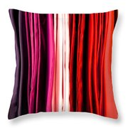 Colored Cloth Throw Pillow