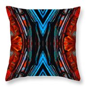 Colorful Abstract Art - Expanding Energy - By Sharon Cummings Throw Pillow