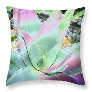 Colorful  Aloa Vera Throw Pillow