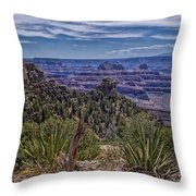 Colorful Canyon Throw Pillow