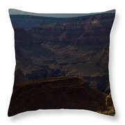 Colorful Canyons Throw Pillow