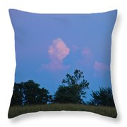 Colorful Cloud Throw Pillow