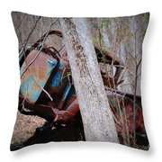 Colorful Crash Throw Pillow