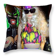 Colorful Cutie Throw Pillow