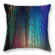 Colorful Garlands Throw Pillow