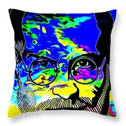 Colorful Jobs Throw Pillow