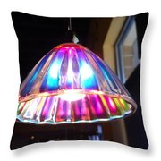 Colorful Light  Throw Pillow