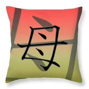 Colorful Mother Throw Pillow
