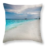 Colorful Paradise Throw Pillow
