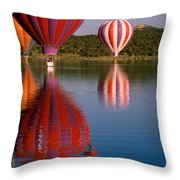 Colorful Reflection Throw Pillow