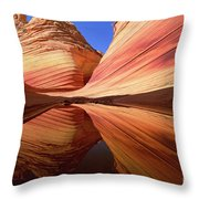 Colorful Sandstone Colorado Throw Pillow by Yva Momatiuk John Eastcott