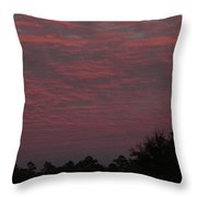Colorful Sky Number 1 Throw Pillow